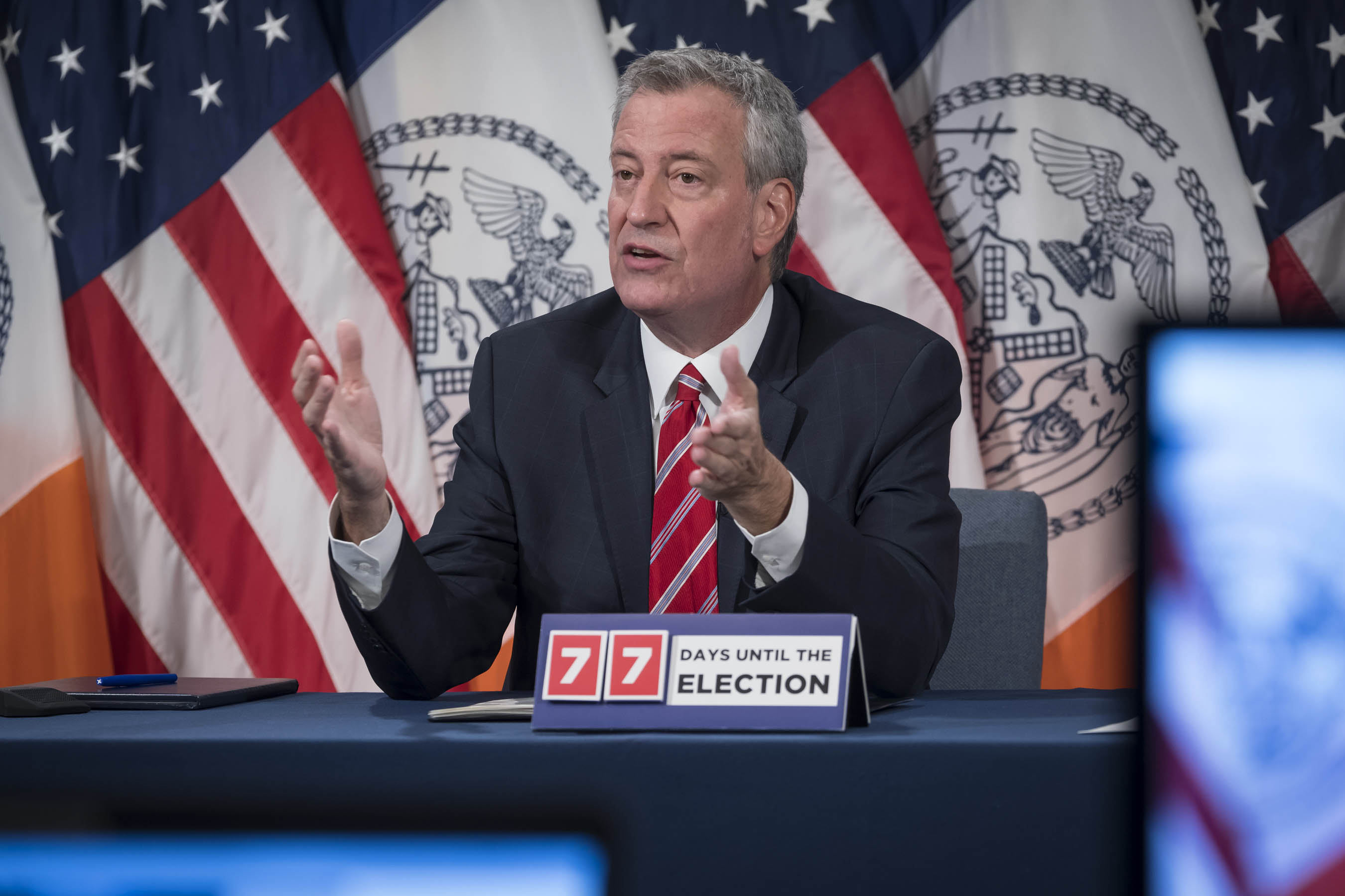 NYC Mayor: Boro Park Saw an Increase in Coronavirus Cases, Traced to Recent Wedding