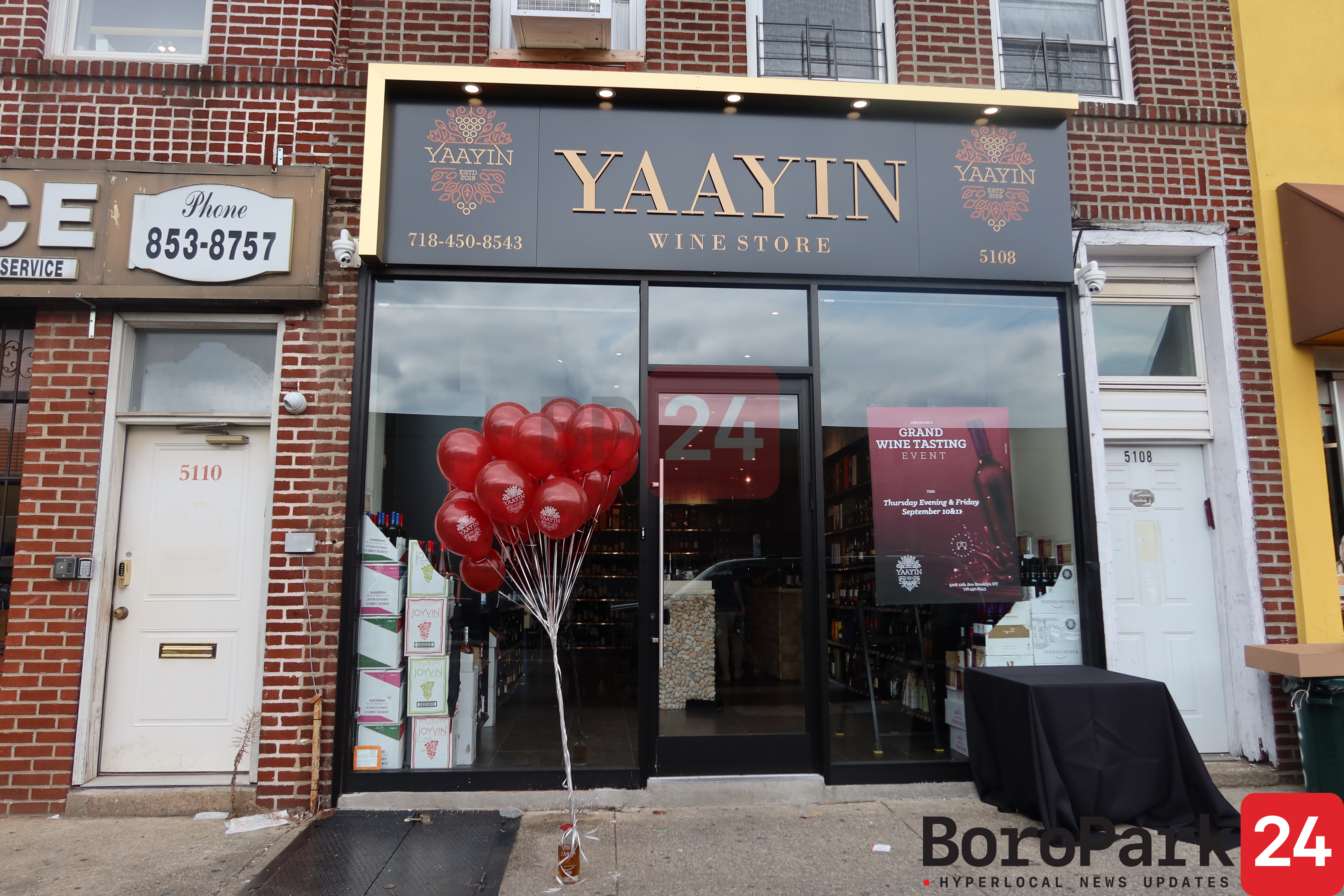 Photos: Grand Wine Tasting event at Yaayin Wine Store.