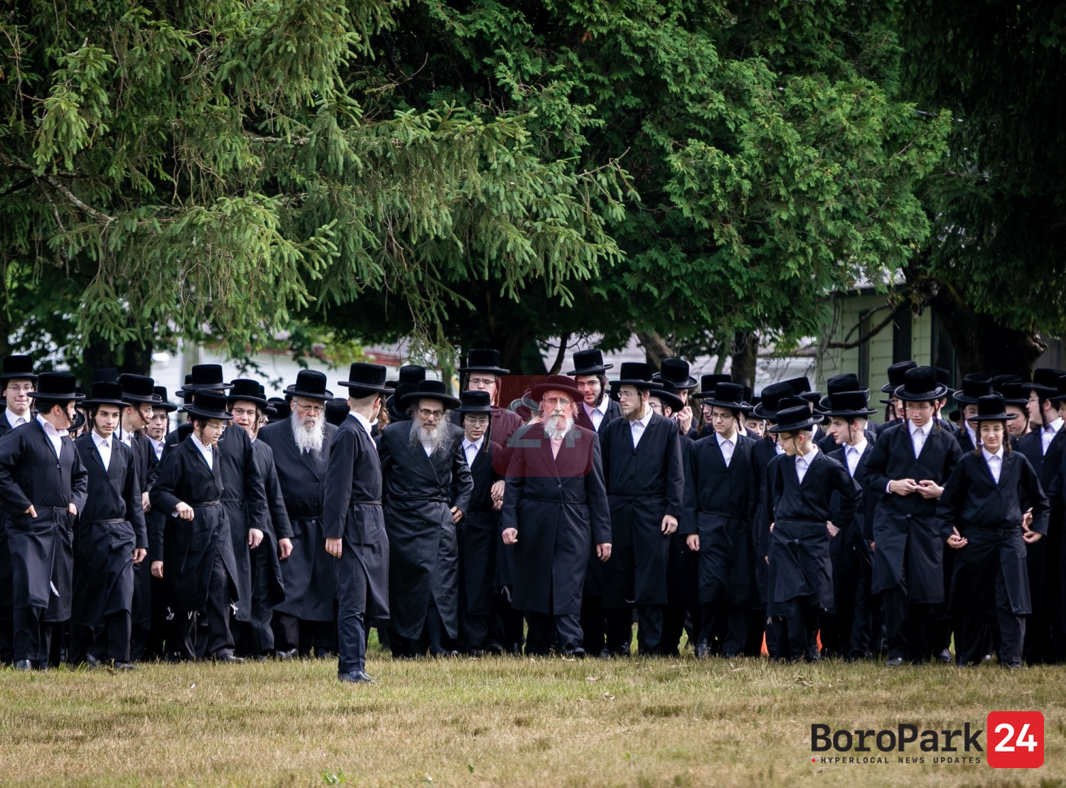 Pupa Rebbe visits the Pupa Camps