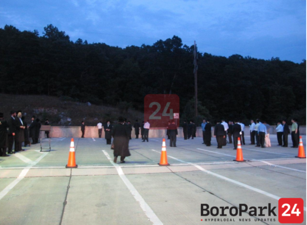 Thousands Expected to Utilize Thruway Rest Area for Mincha and Maariv as Sloatsburg Minyan Area opens today