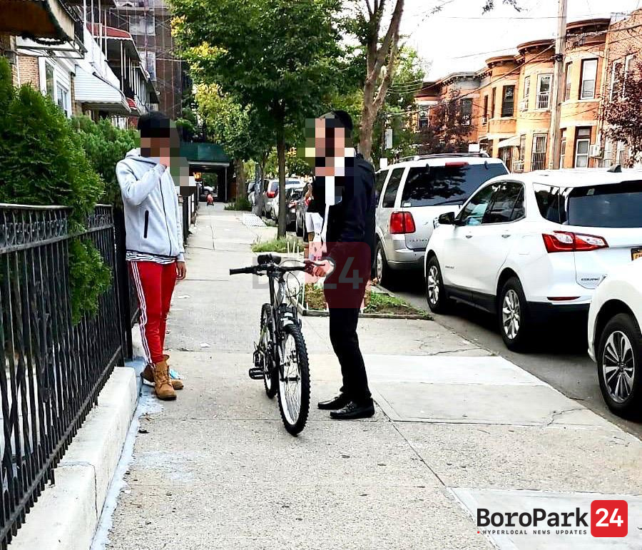 Stolen Bike Returned through BoroPark24 Spectator