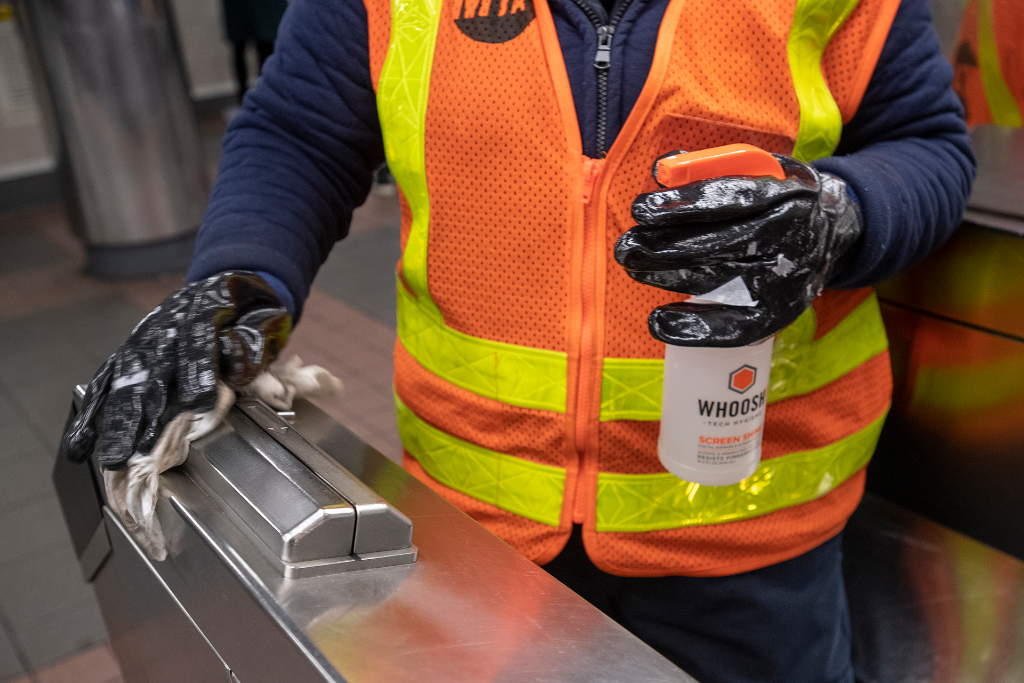 MTA To Continue $300 Million-a-Year Cleaning Routine after COVID