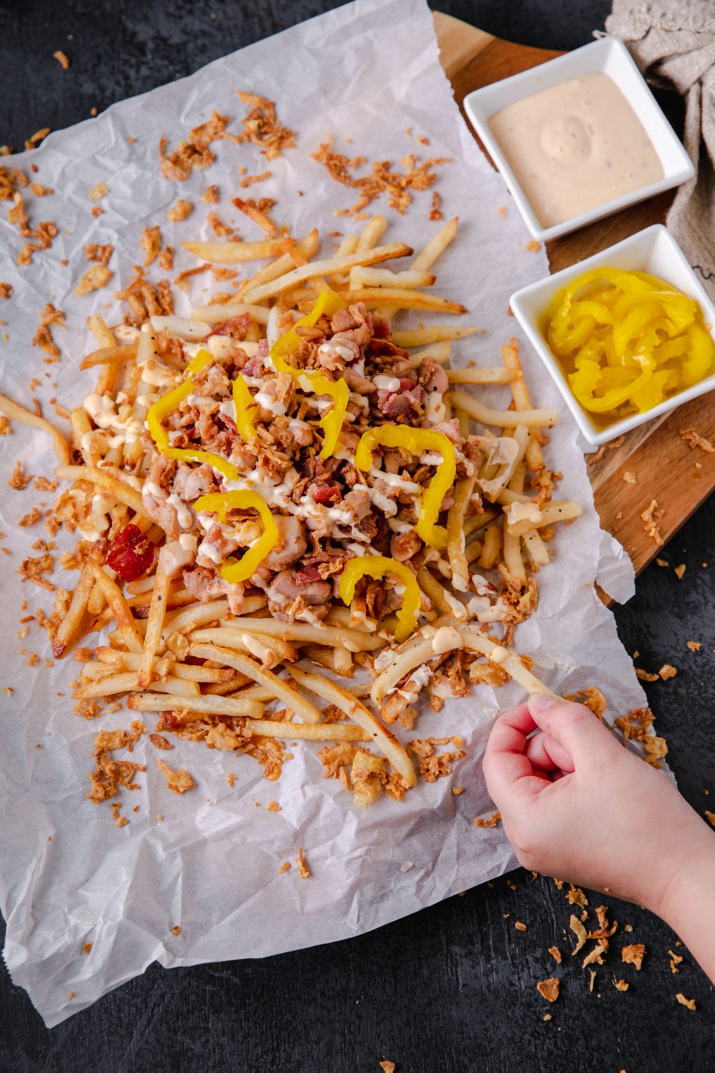New Recipe: Loaded Fries