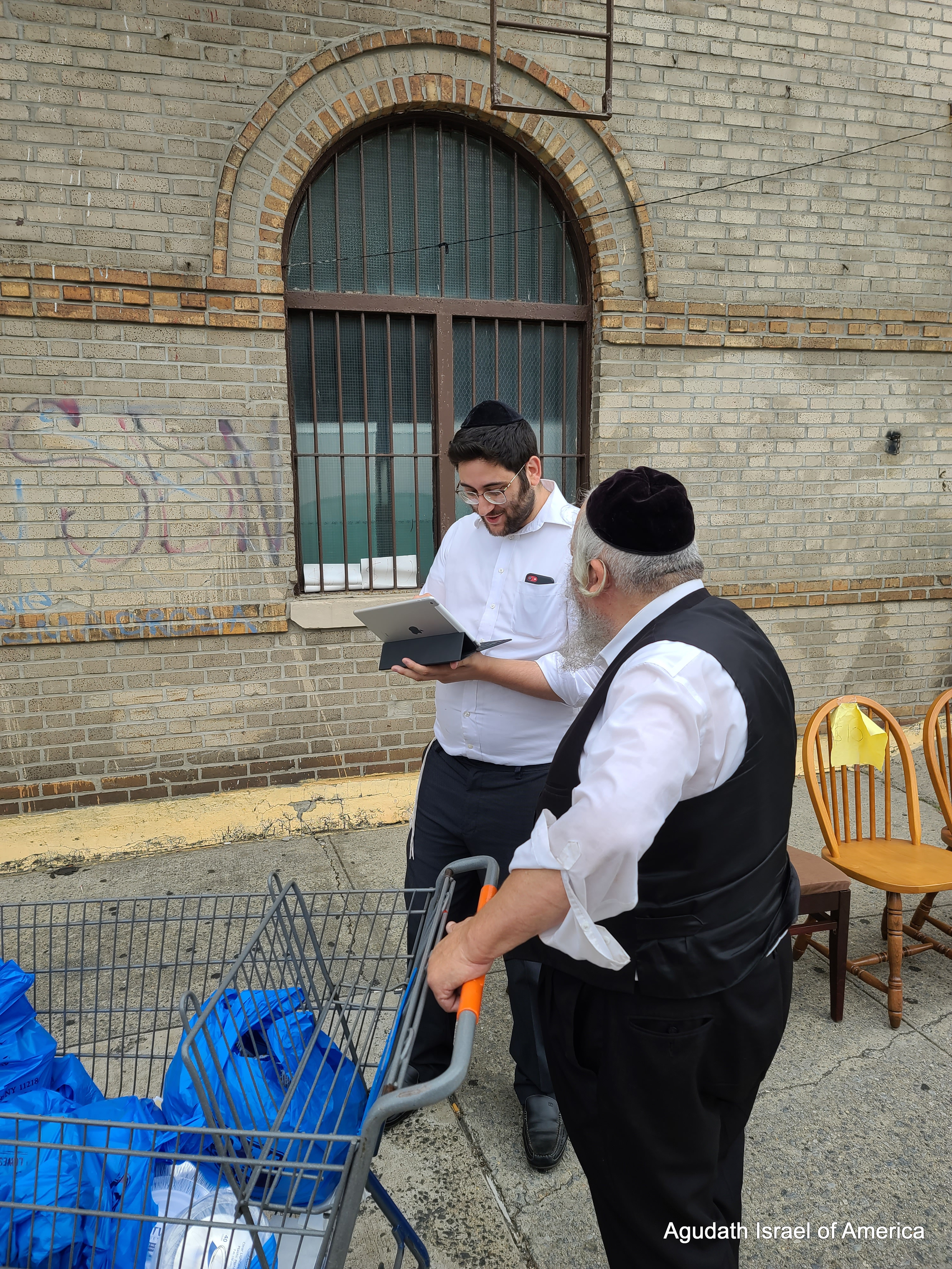 Agudath Israel's Census Pop-Up Drive in Borough Park