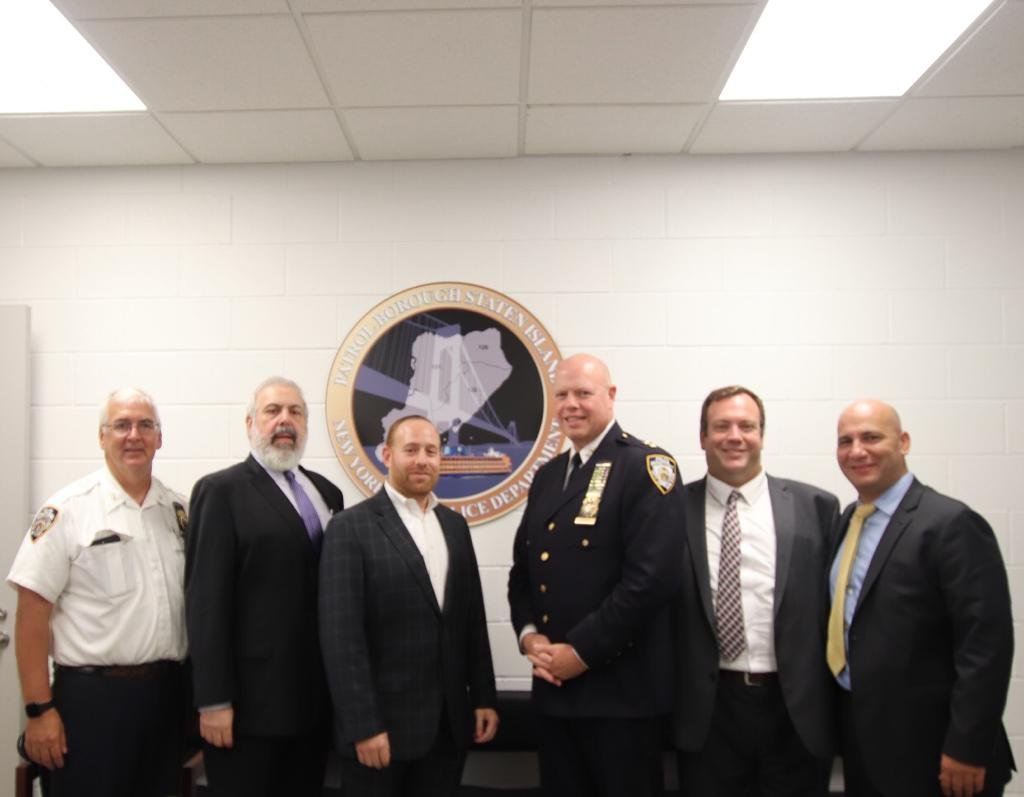 Council of Jewish Organizations and Staten Island Shomrim - Hosts Chief Kenneth Corey For AVirtual Pre-Rosh Hashanah Security Meeting