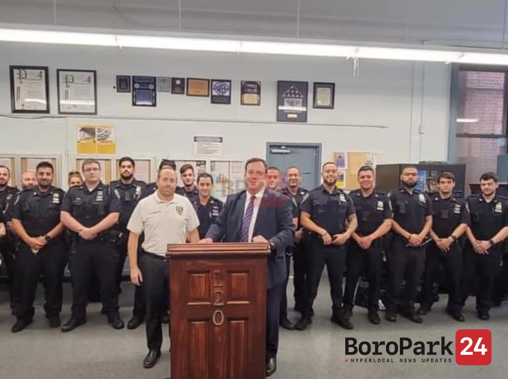 COJO Tours PCT. 120 and Thanks NYPD for Their Dedicated Service