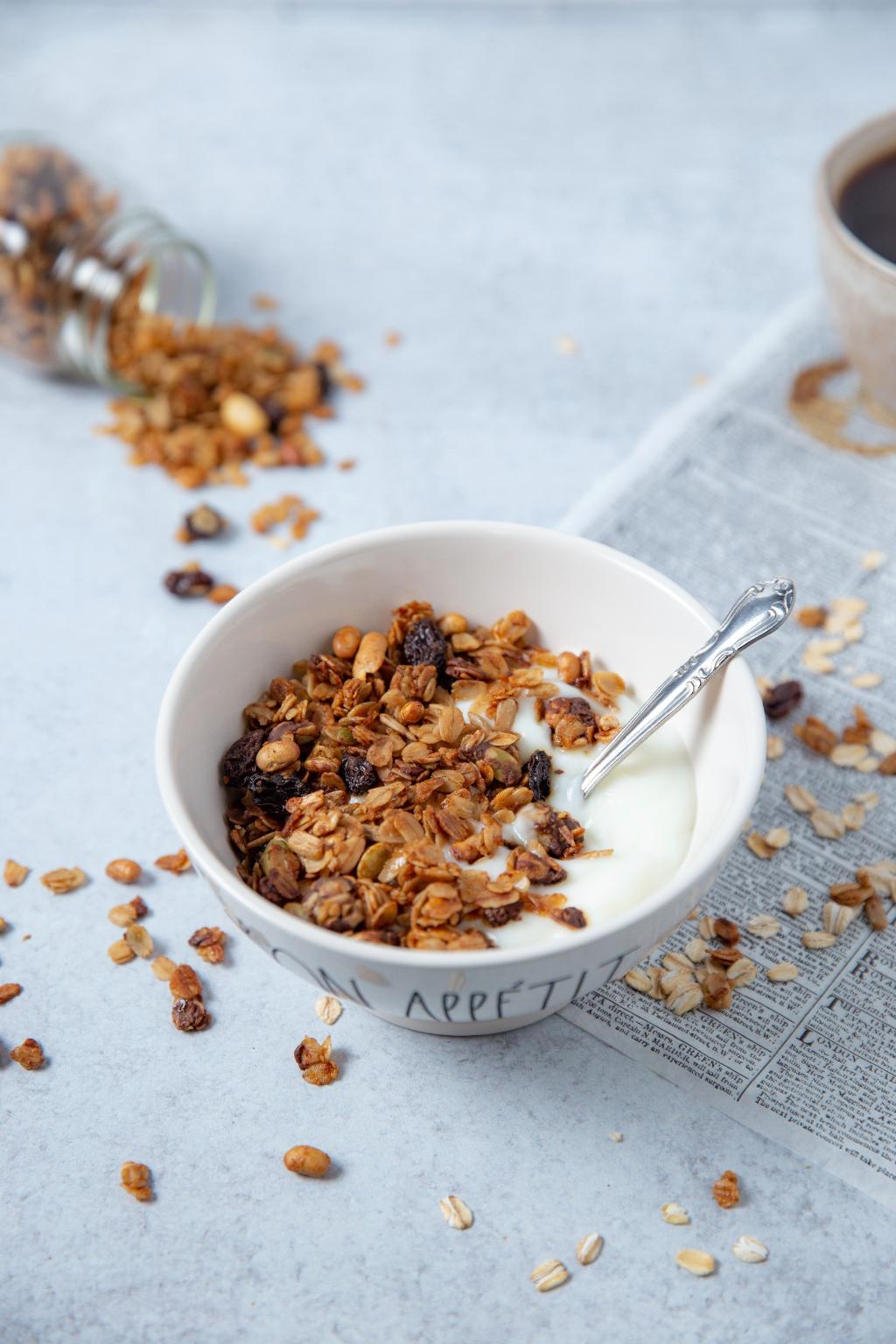 New Recipe: Basic Granola