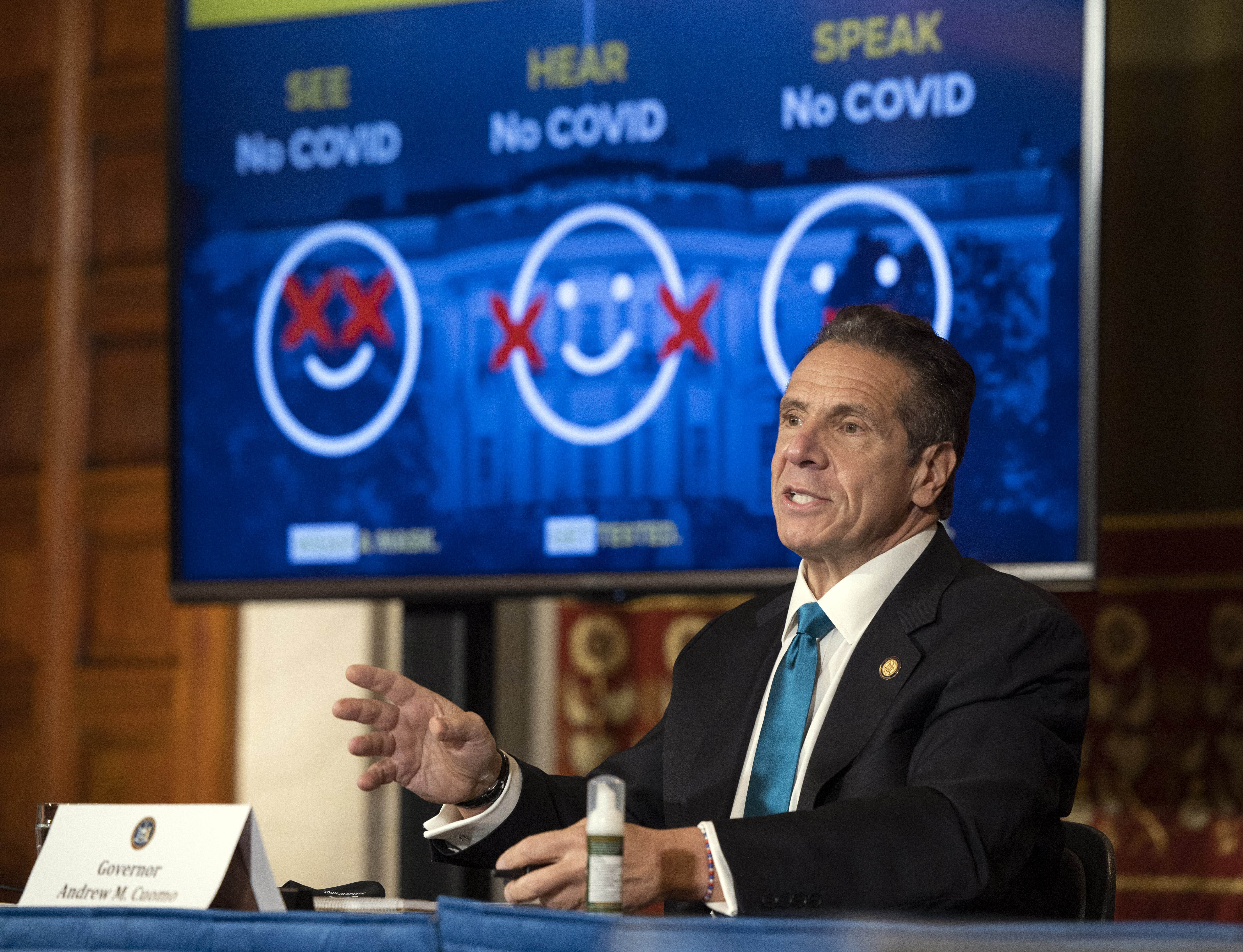 Gov. Cuomo Orders New Restrictions to Fend off Second Wave of COVID