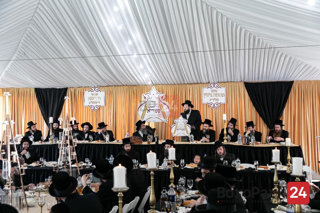 Siyum Mesechtes Gitin in Yeshivas Horei Besomim Stree