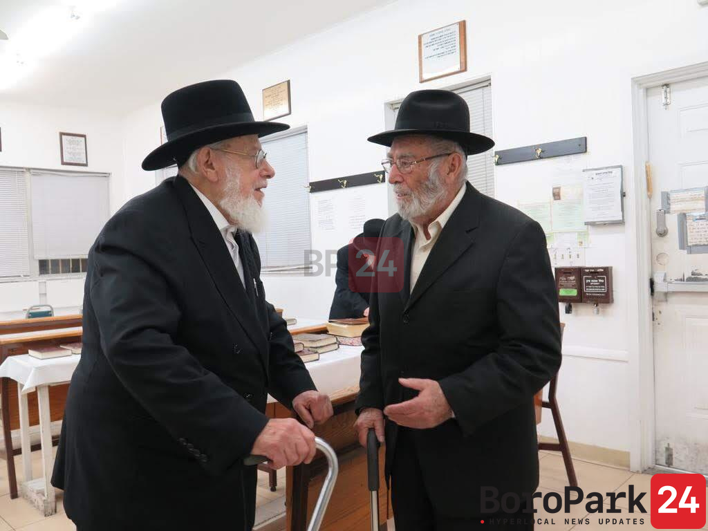 Two Brothers, Blessed With Long Life by Satmar Rebbe, Niftar on Yahrtzeit