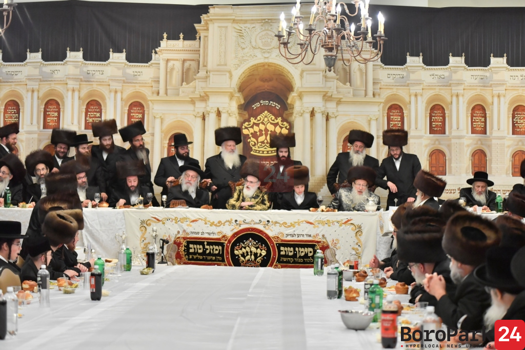 Bar Mitzvah in Courts of Visnitz and Spinka