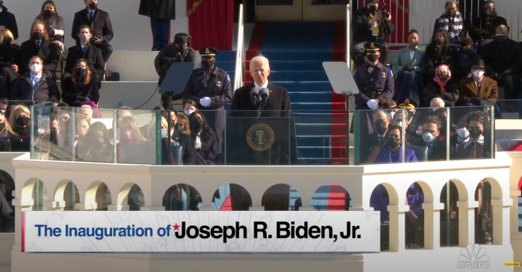 President Biden and Vice President Kamala Harris Sworn in Today