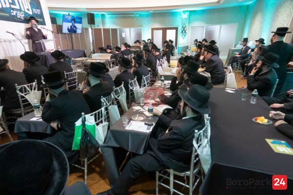 "Shadchanim Convention by ""Bekurov Shiddichim"" for Shadchanim from all communites."