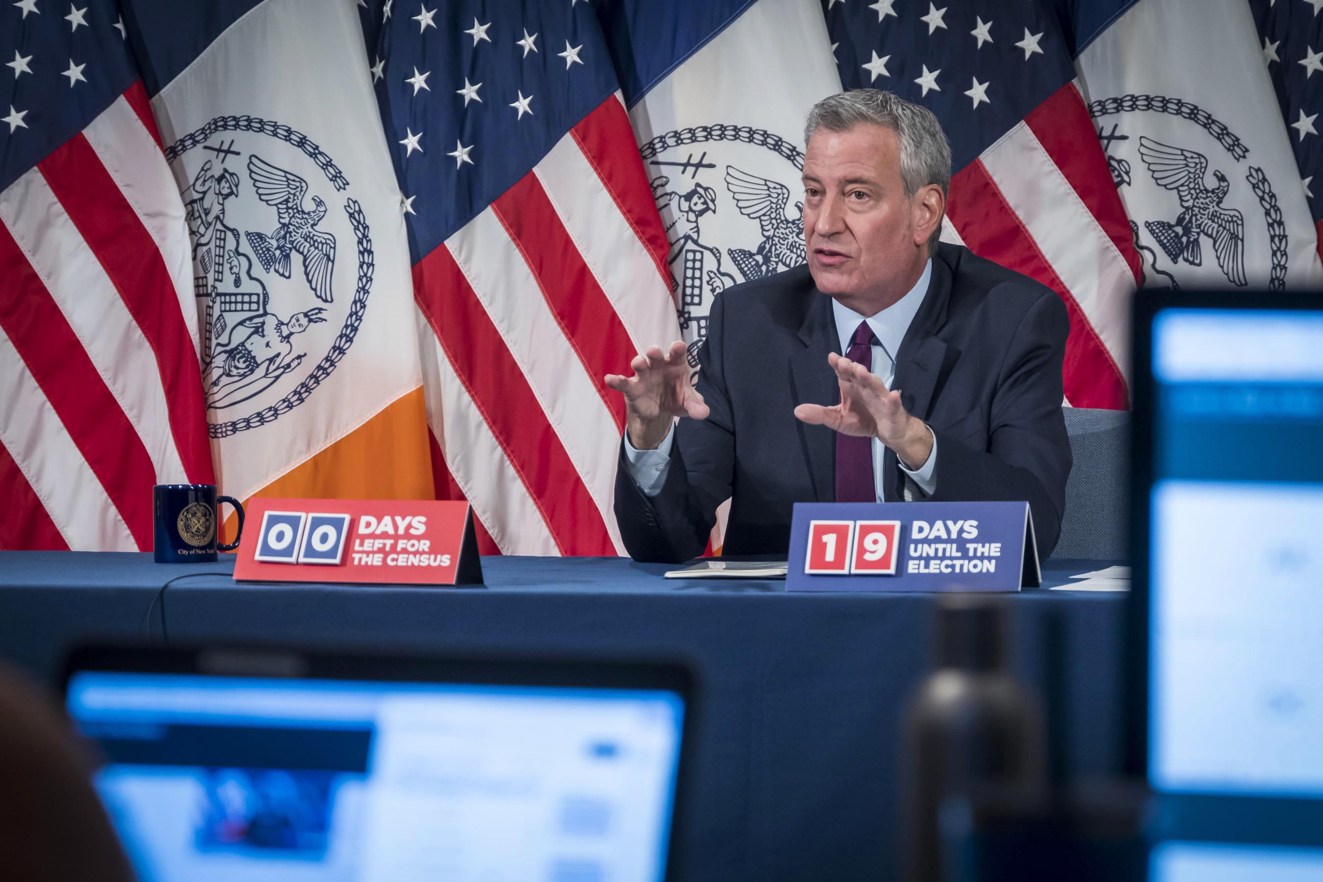 """Mayor Bill de Blasio Acknowledges Potential Ambiguity on Whether Yeshivas Can Reclassify As """"Childcare Centers"""""""