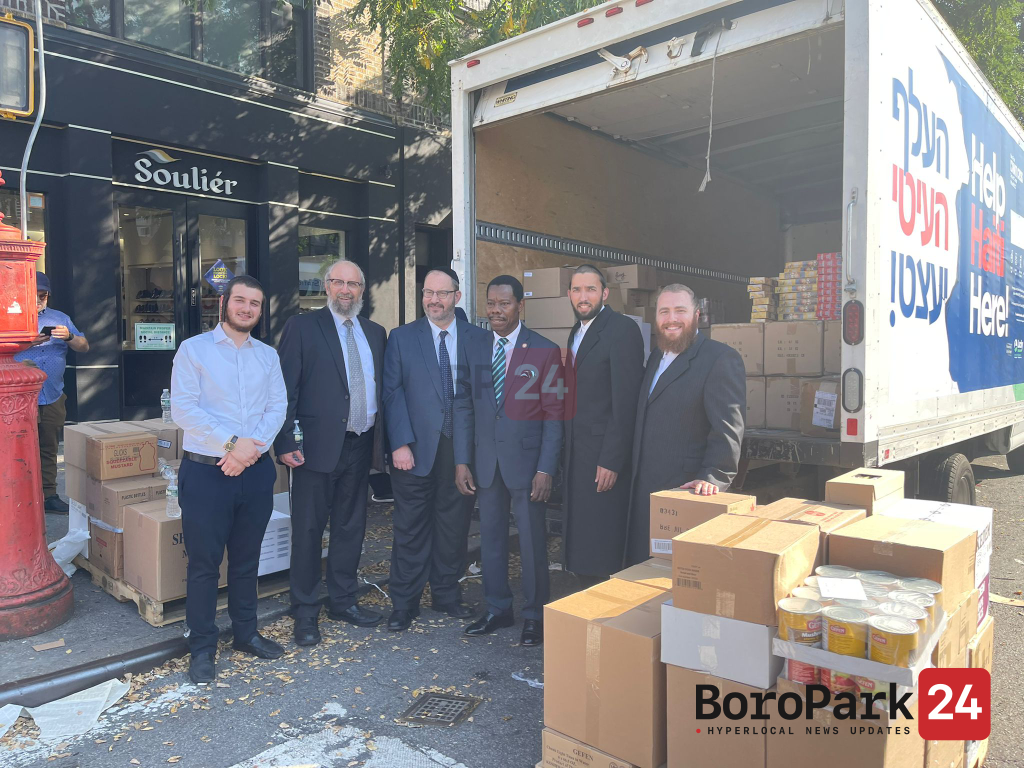KIDDUSH HASHEM: Chassidic Community At The Forefront Of The Haitian Relief Effort