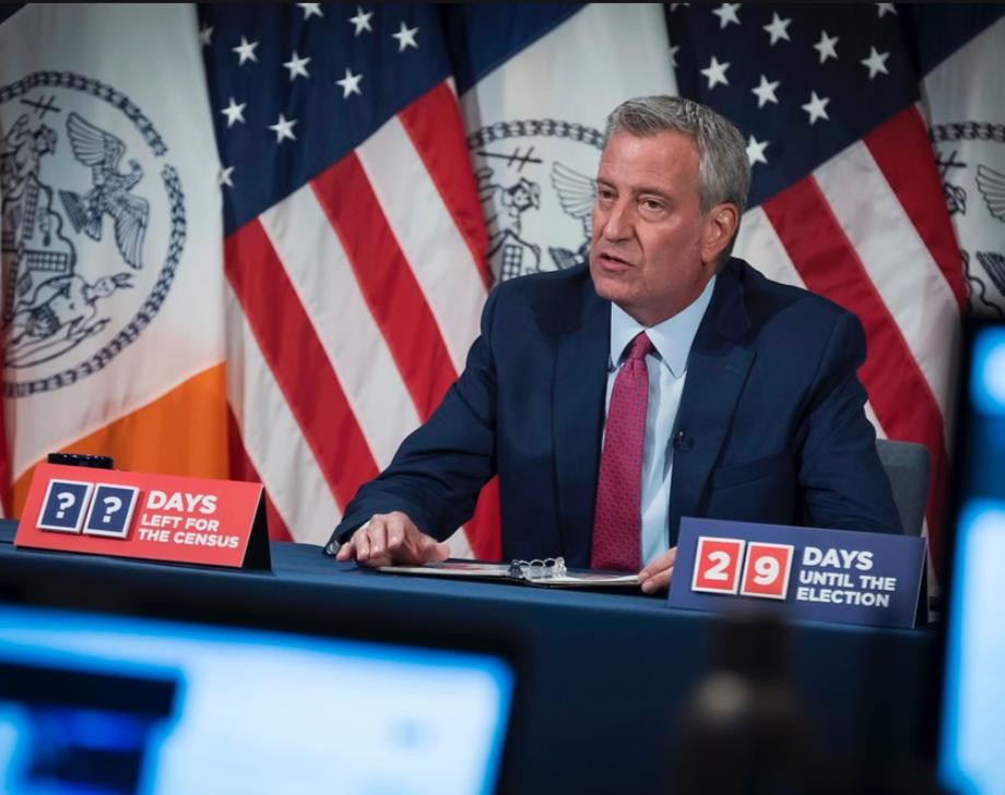 Mayor de Blasio Adds the Shut-Down of Non-Essential Businesses to Cuomo's School Closures in Affected Areas