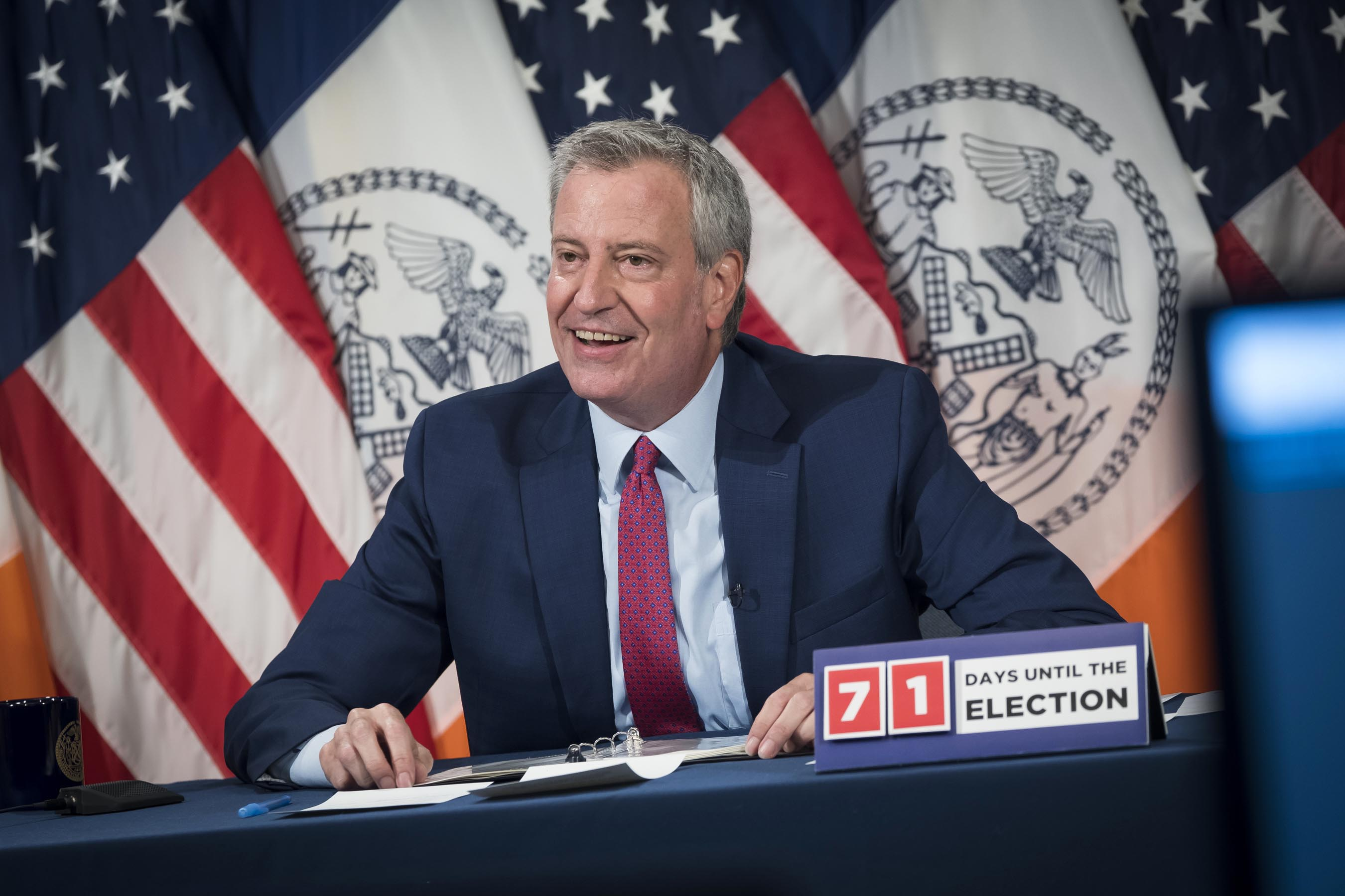 De Blasio Covers NYC School Reopening Guidelines